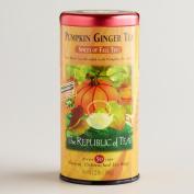 Pumpkin Ginger Tea - 50 cups - natural, unbleached tea bags - 80ml / 80 g