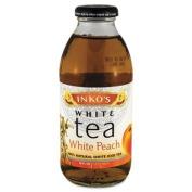 Ready-To-Drink White Peach White Tea, 470ml Bottle, 12/Carton - IKST3