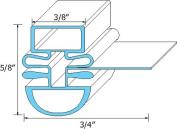 TURBO AIR MAGNETIC DART MOUNT DOOR GASKET 30223M0100