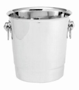 Bucket, Stainless Steel Champagne / Wine Bucket With Handle --- 1 Each.