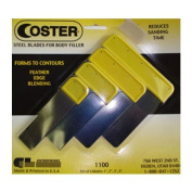 Coster 1100 Steel Autobody Spreader Assortment 4 Pack