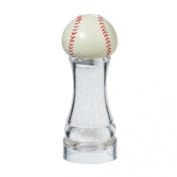 Chef Specialties 61052 Acrylic Baseball Salt Mill, 15cm