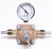 Water Regulator with Dial / Adjustable for Soda Fountain