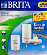 Brita On Tap Faucet Water Filter System, Includes:1 System+2 Filters
