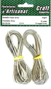 Vinyl Cord Gimp Silver Colour 2 Mm 10 Yards Arts Crafts