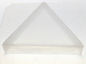 Flexible Resin Mould Triangle Shape 7.6cm X 1.9cm Deep