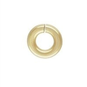 Gold Filled 19.5 Gauge 3.8mm Open Jump Ring. Sold as - 50 Pieces Per Pack