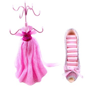 [Wendy] Jewellery Display Holder Stand Combo Light Pink