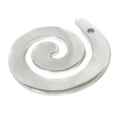 NinjaCrafters Aluminium Swirl with Hole Blanks 16 Gauge (.050) For Handstamping Craft Making and More Pack of 10