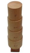 Hardwood Round Bracelet 4 Step Mandrel