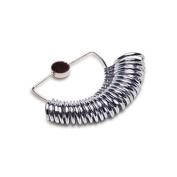 Metal Ring Finger Sizer Gauge Half Round Bands