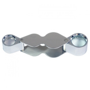 HTS 203B0 20x 12mm / 10x 18mm Dual Stainless Steel Jeweller's Doublet Loupe