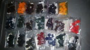 Candle Dye Chips Sample Set 200 Dye Chips 20 Colours