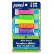 ArtSkills Neon Glitter Shakers, 6-Count