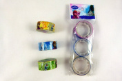 Frozen Pack of 3 Small Decorative 35mm x 15mm Tape