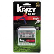 Krazy Glue - Krazy Glue Single-Use Tubes w/Storage Case, 4/Pack KG58248SN (DMi PK