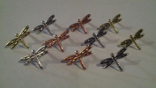 Dragonfly Brads - 50pc - Metallic/metals