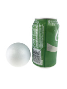 Smooth Foam Balls for Crafts and School Projects