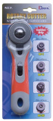 Dafa 45 mm Safeguard Sof Grip Rotary Cutter, Multi-Colour