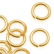 Brass JUMPLOCK Jump Rings 8mm Diameter 16 Gauge Thick
