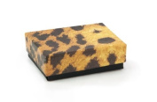 Leopard Print Cotton Filled Jewellery Box #11