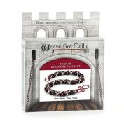 Weave Got Maille 3-Colour Byzantine Chain Maille Bracelet Kit, New York New York