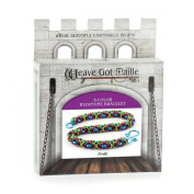 Weave Got Maille 3-Colour Byzantine Chain Maille Bracelet Kit, Frolic