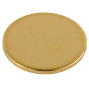 14K Yellow Gold Calibration Disc Gemoro Auracle AGT1 AGT2 Gold Testers