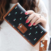 Vovotrade(TM) Hot Sale!! Elegant Lady Women Long Purse Clutch Wallet Zip Bag Card Holder