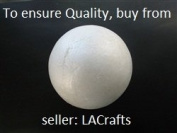 20cm Smooth Foam Craft Ball - Polystyrene (Not Styrofoam) - RARE - 1 PC