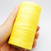 284yrd Leather Sewing Waxed Thread 150D 1mm Leather Hand Stitching 125g