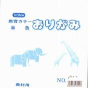 Origami Paper Single Colour 15cm (5.9 In) No.22 White