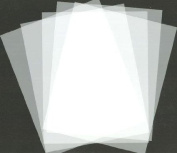 Blank Stencil Making Sheets 22cm x 28cm Frosted -Pack of 10 Sheets