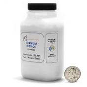 Titanium Dioxide / Fine Powder / 6 Full Ounces / 99.99% Pure.