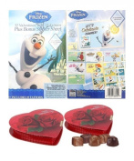Disney Frozen Olaf Valentines Cards with Tattoos & Bonus Teacher & Principle Gift
