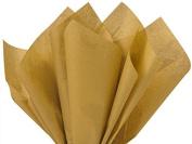 Antique Gold Tissue Paper 50cm X 80cm - 48 Sheet Pack