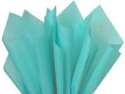 Soft Caribbean Teal Tissue Paper 38cm X 50cm - 100 Sheet Pack