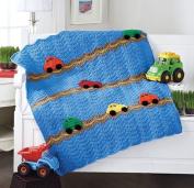 Cars Blanket Crochet Kit