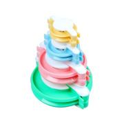 Accmart(TM) 4 Sizes Pompom Pom-pom Maker for Fluff Ball DIY Wool Knitting Craft Tool Set