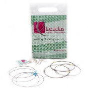 Lazadas Blocking Wires for Knitting and Crochet, Mixed Set