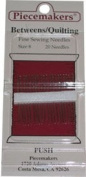 Piecemakers Betweens Quilting Needles Size 8