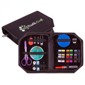 Premium Sewing Kit With Retractable Tape Measure & Sewing Supplies - Excellent Sewing Starter Kit For Kids, Adults & Beginners - Perfect Gifts, Home, Travel & Emergency Essentials For All Ages. Bonus -  .  d