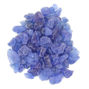 Koyal Wholesale Centrepiece Vase Filler Beach Decor Sea Glass, 0.7kg, Royal Blue/Ocean Blue