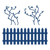 Fence & Vine Tattered Lace Cutting Die D385