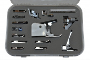 Premium 15 Piece Sewing Machine Presser Feet Kit - Suitable With Babylock, Janome, Brother, New Home, Singer, Kenmore, Simplicity, Elna, Toyota, Necchi