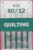Klasse Size 80/12 Quilting Needles 5 Pack