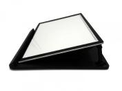 Kenting Multifunction Holder Rotate In 360° Adjusting 9 Angle Points Skidding Prevented Stander for Huion Litup Tracing Light Table LED Light Box- Black