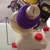 Marrywindix Hand Operated Manual Wool Winder Holder for Swift Yarn Fibre String Ball