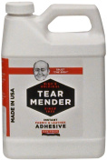 Tear Mender TG-32 Bish's Original Tear Mender Instant Fabric and Leather Adhesive, 950ml Container
