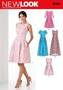 New Look Patterns UN6341A Misses' Dress, A